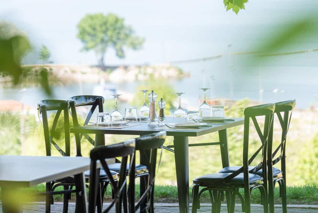 Aiolis lakeview restaurant at lake kerkini