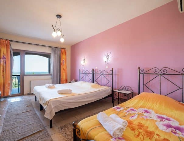 Triple room Erodios hotel lake kerkini