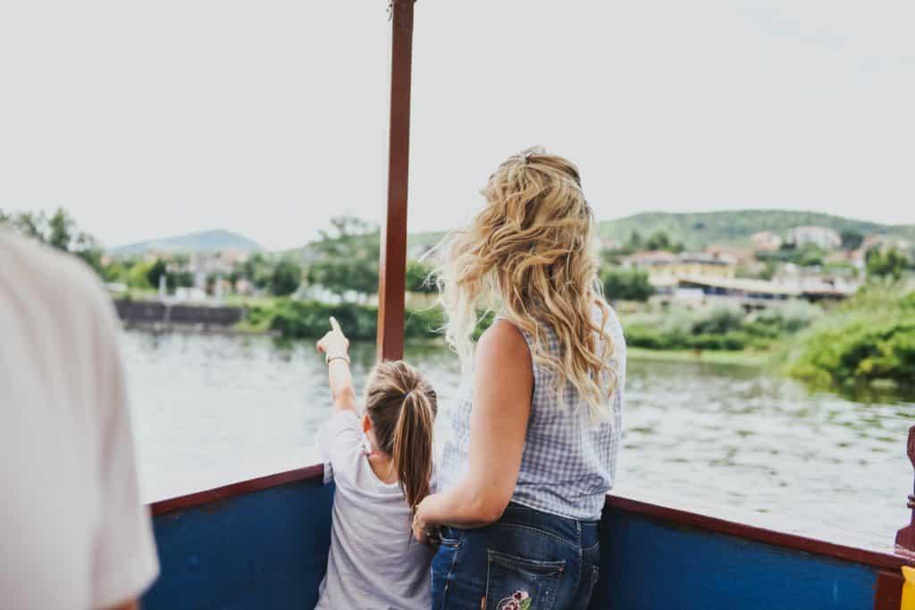 Boat ride on the lake Kerkini