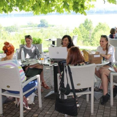 European Summer School at Erodios hotel lake kerkini