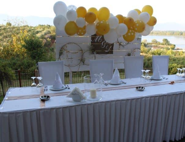 Γάμος στο ξενοδοχείο Ερωδιός στη λίμνη κερκινη